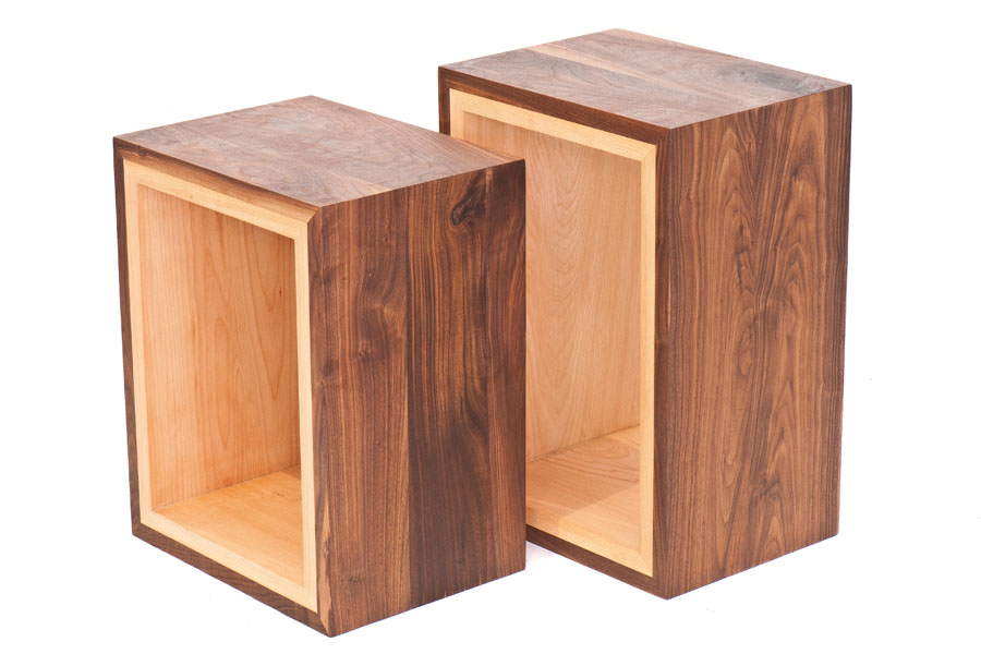 Cubos de maderas combinadas - Madera a medida ...